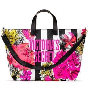 Victoria's Secret Wildflower Weekender Tote Bag